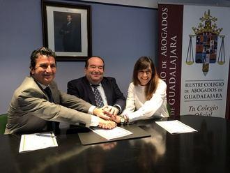 El Ilustre Colegio de Abogados de Guadalajara firma un acuerdo con la editorial jurídica Sepín