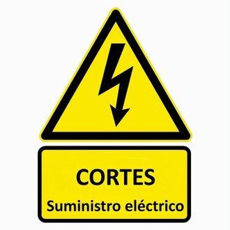Corte del suministro eléctrico en la calle Nuevo Alamín de Guadalajara