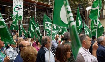 Los sindicatos de los funcionarios en pie de guerra contra el gobierno de Page y su consejero de Hacienda 'que miente'