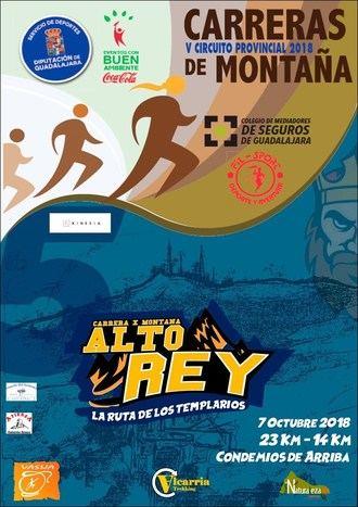 El domingo 7 de octubre, V Carrera por Montaña Alto Rey