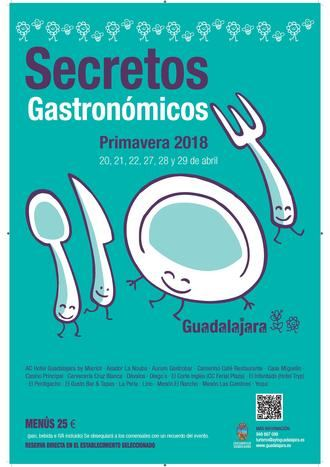 La Concejalía de Turismo prepara la edición de otoño de los Secretos Gastronómicos