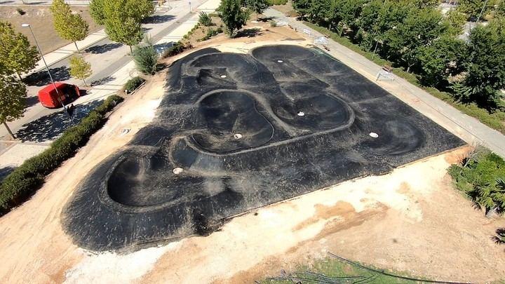 El Parque de la Concordia de Valdeluz tendrá una pista de Pump-Track de mil metros cuadrados