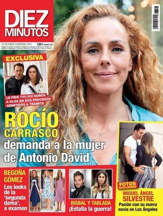 DIEZ MINUTOS Olga Moreno contesta a las demandas interpuestas por Rocío Carrasco