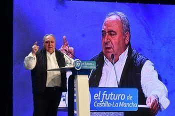 Emotivo discurso de despedida de Vicente Tirado como Secretario General del PP en Castilla La Mancha