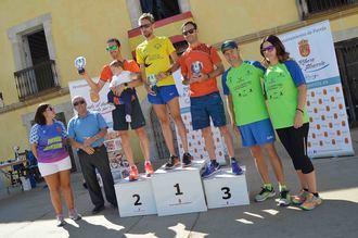 Ricardo Serrano volvió a imponerse en la Carrera Popular Lago de Pareja