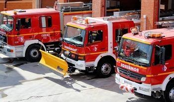 Cruce de acusaciones entre Diputación de Cuenca y los bomberos por el régimen laboral