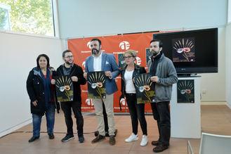 Emilio Gutiérrez Caba y Natalia Verbeke, en la XXXV Muestra Nacional Espiga de Oro