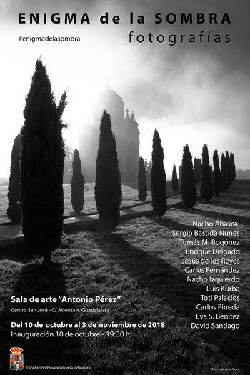 Exposición de 12 fotógrafos vinculados con Guadalajara a partir del miércoles en la Sala de Arte de la Diputación