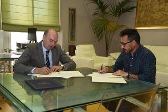 La Diputación y el Club Atletismo la Esperanza firman un convenio para el desarrollo de los circuitos provinciales de carreras populares