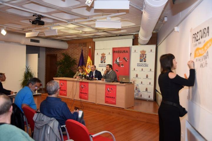 La Diputación de Guadalajara acoge la presentación de la Feria Presura para la Repoblación de la España Vacía