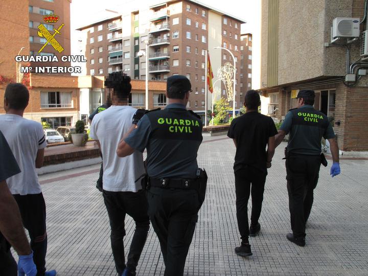 Detienen a tres personas por robo en viviendas, naves, talleres y explotaciones agrícolas de la provincia de Guadalajara