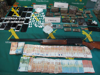 La Guardia Civil detiene a los integrantes de una organización que se dedicaba a la venta de sustancias estupefacientes a jóvenes de Cabanillas del Campo, Marchamalo y Guadalajara