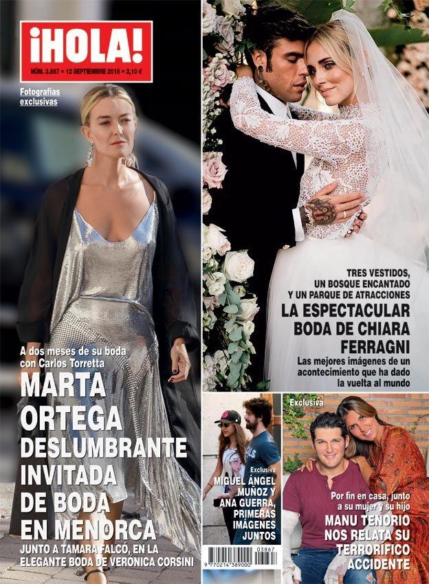 ¡HOLA! Miguel Ángel Muñoz y Ana Guerra más que amigos
