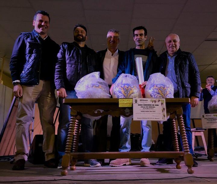 """La Bodega """"El Callejón"""" con 49 puntos gana el primer premio del XXXIX Concurso del Vino de Horche"""
