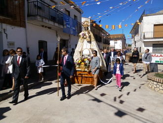 Málaga del Fresno disfrutó de sus fiestas en honor a la Virgen del Rosario
