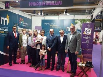 Latre resalta el compromiso de la Diputación de Guadalajara para ayudar a la mujer a emprender en el medio rural