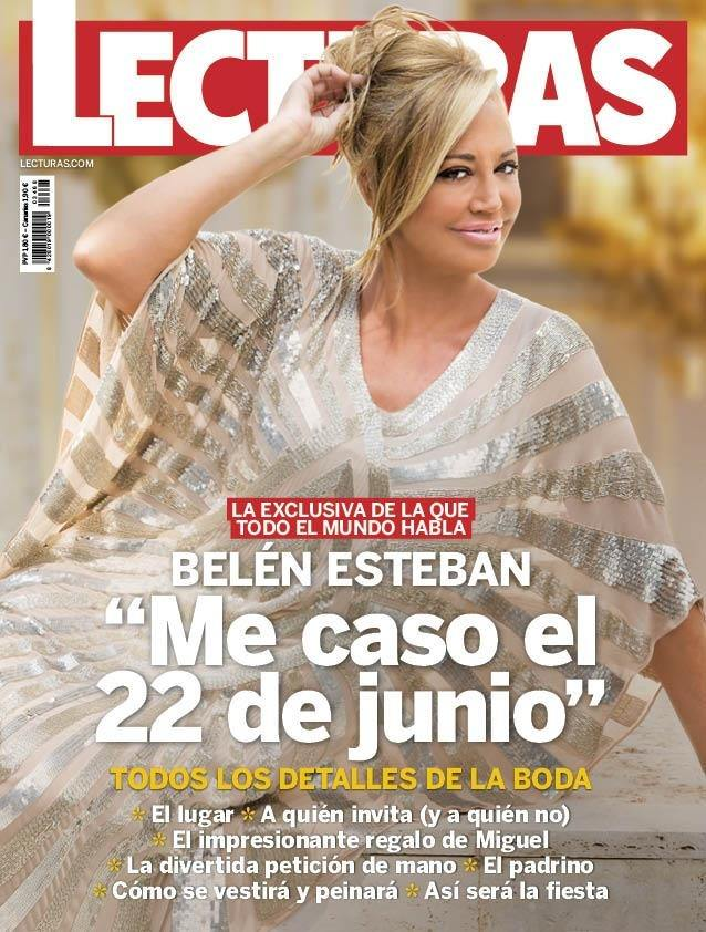 """LECTURAS Belén Esteban: """"Me caso el 22 de junio"""""""