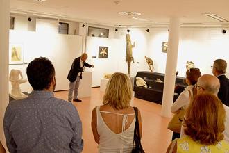 La Casa de la Cultura de Azuqueca acoge la exposición 'La letra sin sangre'