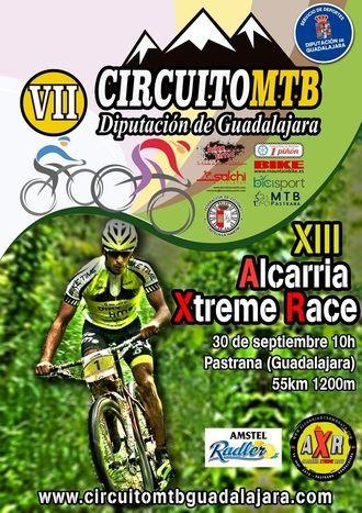 El domingo 30 en Pastrana XIII Alcarria Xtreme Race, octava prueba del Circuito MTB Diputación de Guadalajara