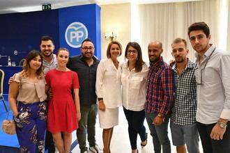 Los jóvenes de NNGG Castilla-La Mancha agradecen a Cospedal sus años de trabajo como presidenta regional