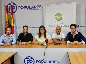 NNGG Castilla-La Mancha se pone a disposición de Paco Núñez como nuevo presidente regional del PP CLM