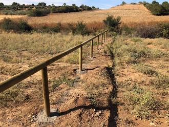 En marcha las obras de construcción del observatorio de aves necrófagas en Quer