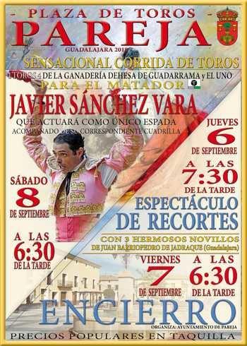 Sánchez Vara se encerrará con cuatro toros en la Plaza del Torreón de Pareja