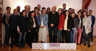 Ana Isabel del Val Rodríguez lidera la candidatura de Guadalajara para que Podemos consiga el gobierno de Castilla La Mancha