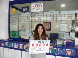 Parte del 1º premio del Sorteo de la Lotería Nacional de este sábado se ha vendido en la administración nº 5 de Guadalajara