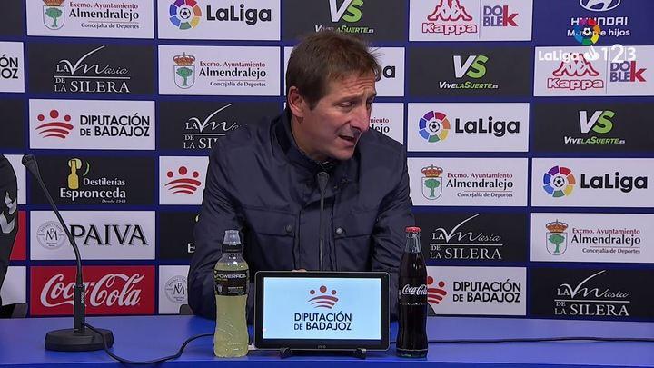 """Ramis: """"Tenemos jugadores con talento, predisposición y actitud y eso se nota en el campo"""""""