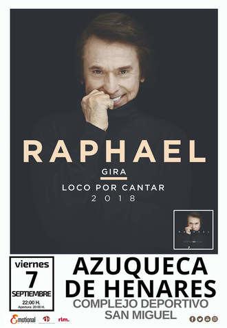 Una tromba de agua obliga a suspender el concierto de Raphael en Azuqueca al poco de su inicio