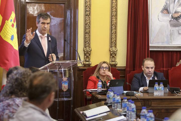"""Antonio Román: """"Sigo sintiendo la misma o más ilusión por hacer cosas por Guadalajara y aumentar su bienestar"""""""
