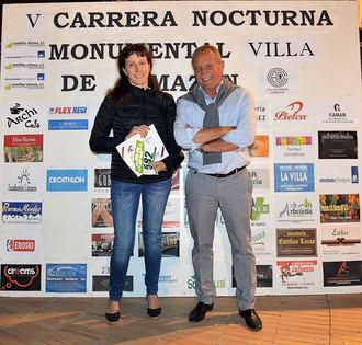 Sonia Bartolomé gana un pack turístico a Sigüenza en la V Carrera Nocturna Monumental de Almazán