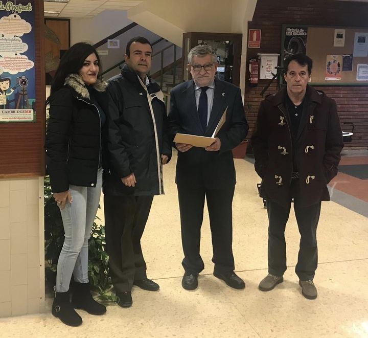 UGT traslada al Consejero de Educación las necesidades del profesorado y de los centros docentes de la provincia de Guadalajara