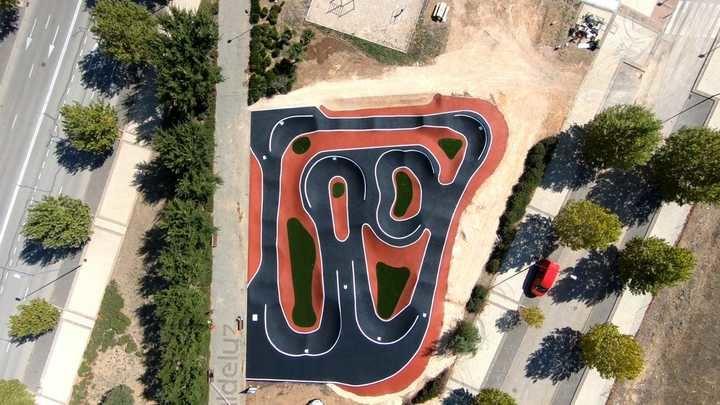 Valdeluz inaugura este sábado el circuito de Pump-Track más grande de Castilla-La Mancha