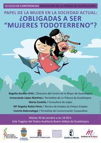 VI Ciclo de Conferencias de la Asociación de la Prensa de Guadalajara