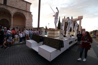 Guadalajara se homenajea como 'Ciudad Europea del Deporte' durante el Desfile de Carrozas