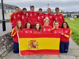 La alcarreña Miriam Martínez, campeona de Europa junior con el equipo nacional