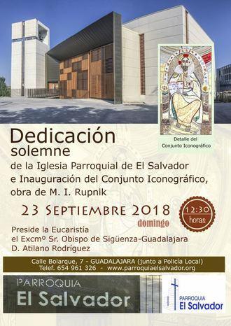 Dedicación de la iglesia parroquial de El Salvador de Guadalajara