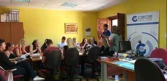 La Delegación de Sigüenza de CEOE-Cepyme recibe un grupo de estudiantes de Praga