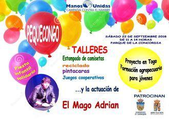Fiesta solidaria 'Pequecongo' de Manos Unidas, el 22 de septiembre en La Concordia