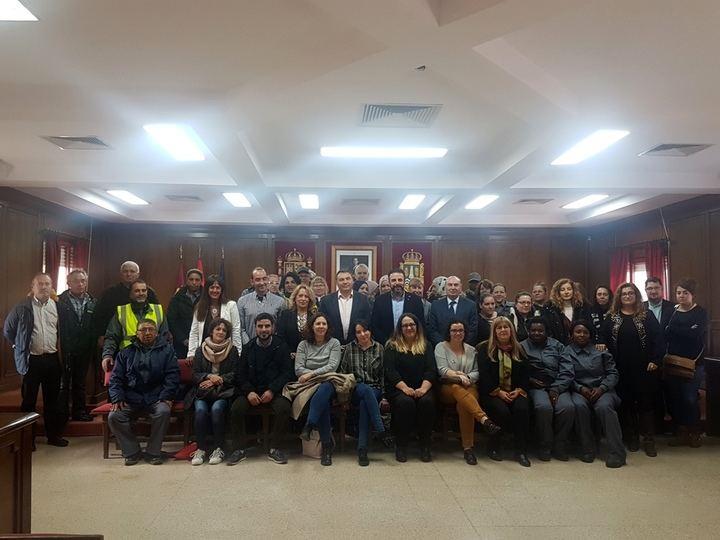 Diputación aporta medio millón de euros para la contratación de 190 personas en Azuqueca de Henares a través del Plan de Empleo