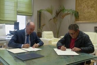 La Diputación renueva su compromiso de colaboración con el Club Voleibol Guadalajara