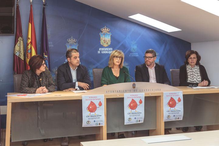 El Colegio de Enfermería de Guadalajara anima a participar en el III Maratón de Donación de Sangre el próximo 14 de noviembre