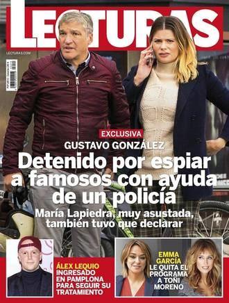 LECTURAS Gustavo González, detenido por espiar a famosos con ayuda de un policía