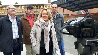 Page deja sin autobuses a los vecinos de Azuqueca que necesitan transporte público para ir al Hospital de Guadalajara