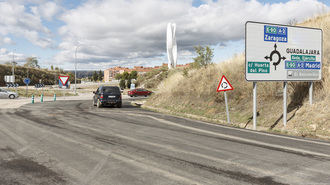 La calle del GEO se abrirá antes de Navidad y favorecerá la descongestión de Cuatro Caminos en Guadalajara