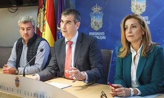 Antonio Román presenta la Oferta de Empleo Público del ayuntamiento de Guadalajara para 2019, con 136 plazas