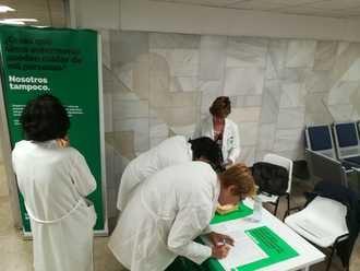 Arranca en Guadalajara la recogida de firmas para garantizar por Ley una atención segura y de calidad