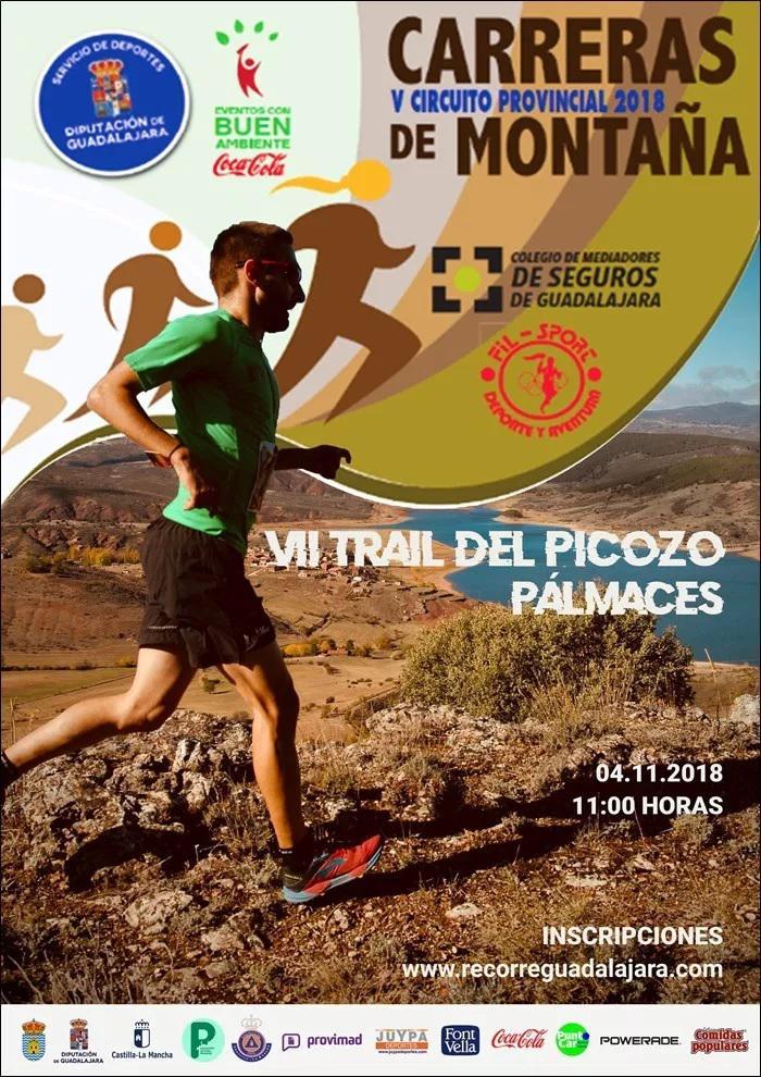 El domingo 4 de noviembre, VII Trail del Picozo de Pálmaces, última prueba del Circuito de Diputación
